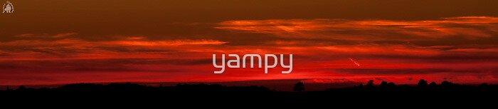 sun set panaramic by yampy