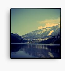Mountain lake II Canvas Print