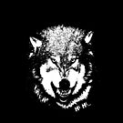 Wolf iPhone Case by metronomad