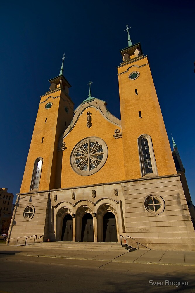 A Lithuanian Church on Chicago's southwest side by Sven Brogren