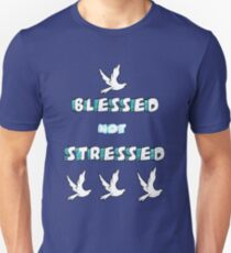 Blessed Not Stressed Unisex T-Shirt