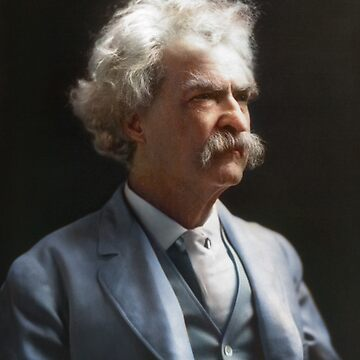 Colorized  - Mark Twain / Samuel L Clemens by SannaDullaway