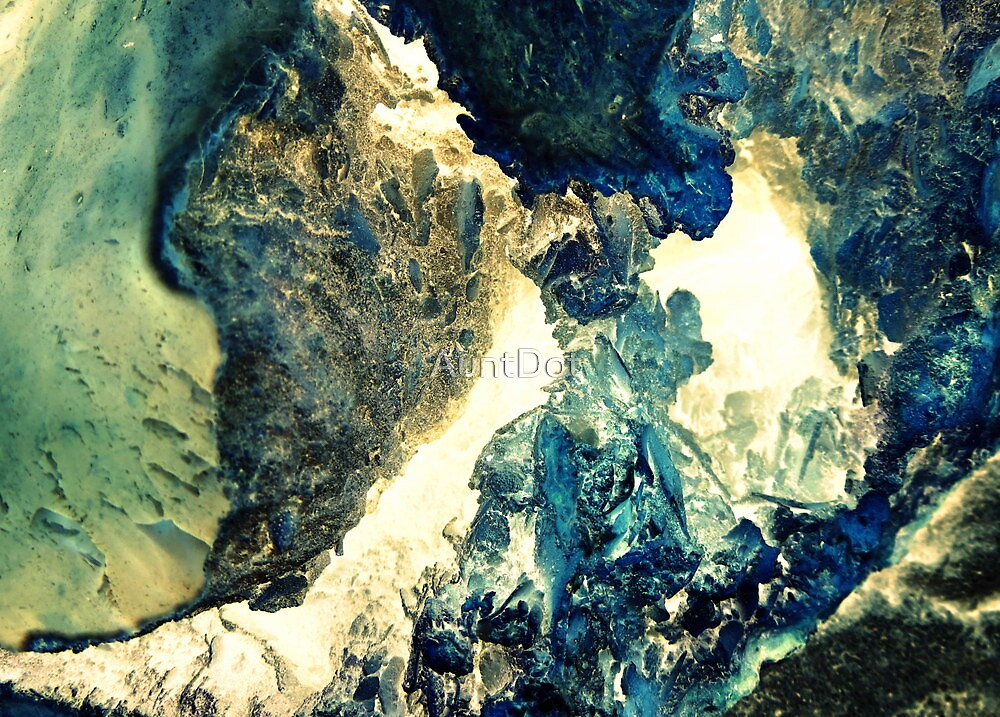 Blue Crystal Cave by AuntDot