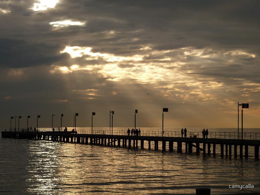 Frankston Pier by camycalla