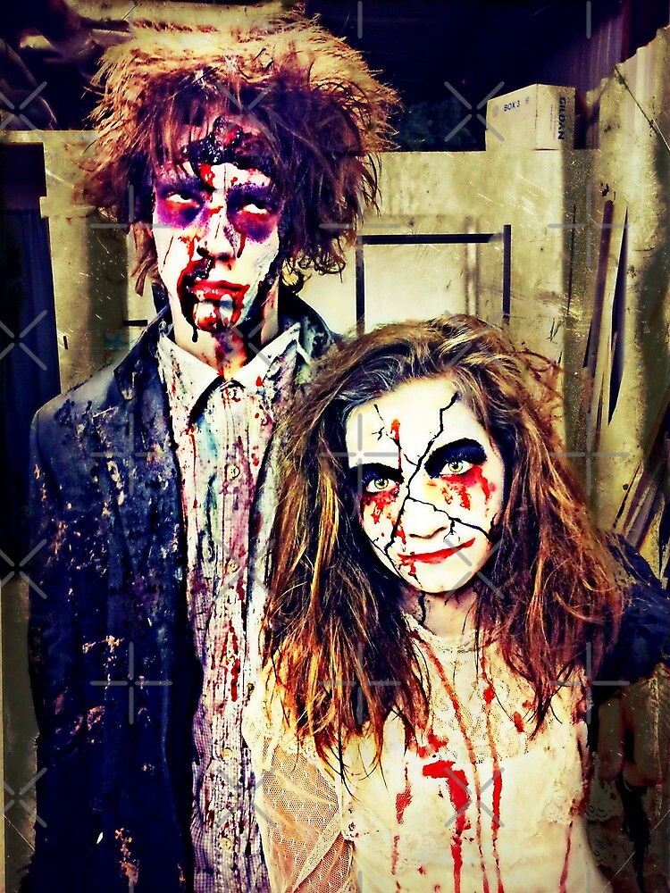 Zombie and Dolly by Scott Mitchell