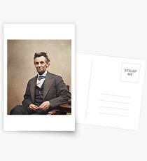 Colorized  - Abraham Lincoln Postcards