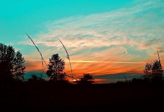 Colorful Farmland Sky by kendlesixx