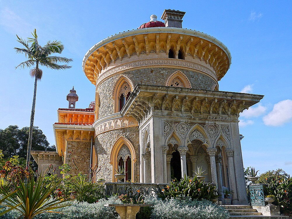 Palacio de Monserrate by kkmarais