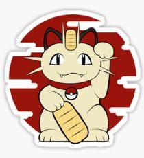 Lucky Meowth Sticker