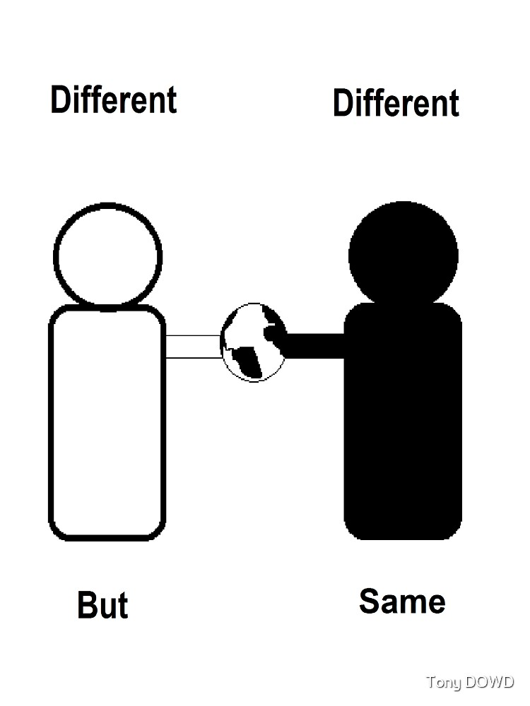 Different Different But Same by Tony DOWD