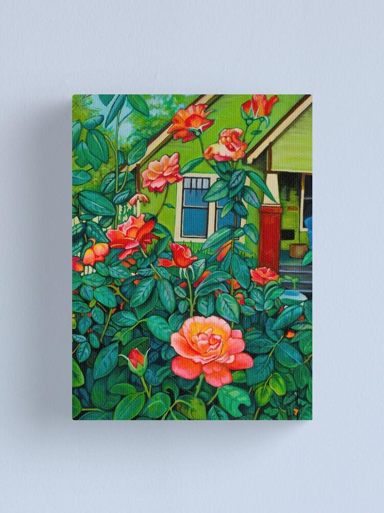 Alternate view of Arlinda's House Canvas Print