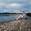 Gone Fishin by Jeanne Sheridan