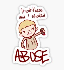 ABUSE!! Sticker