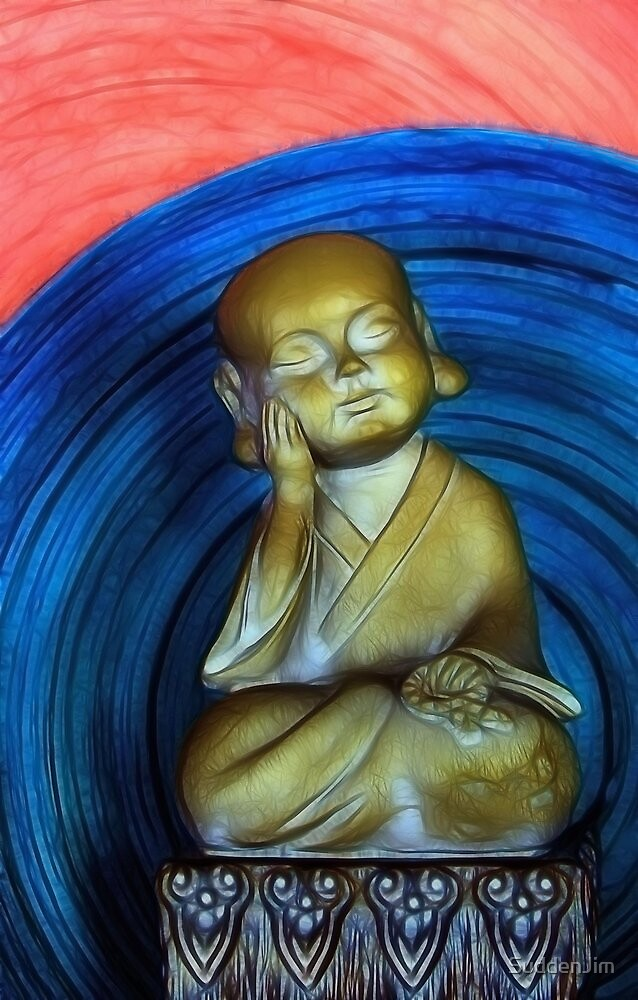 The Littlest Buddha by SuddenJim