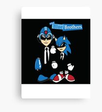 The Blue Brothers Canvas Print