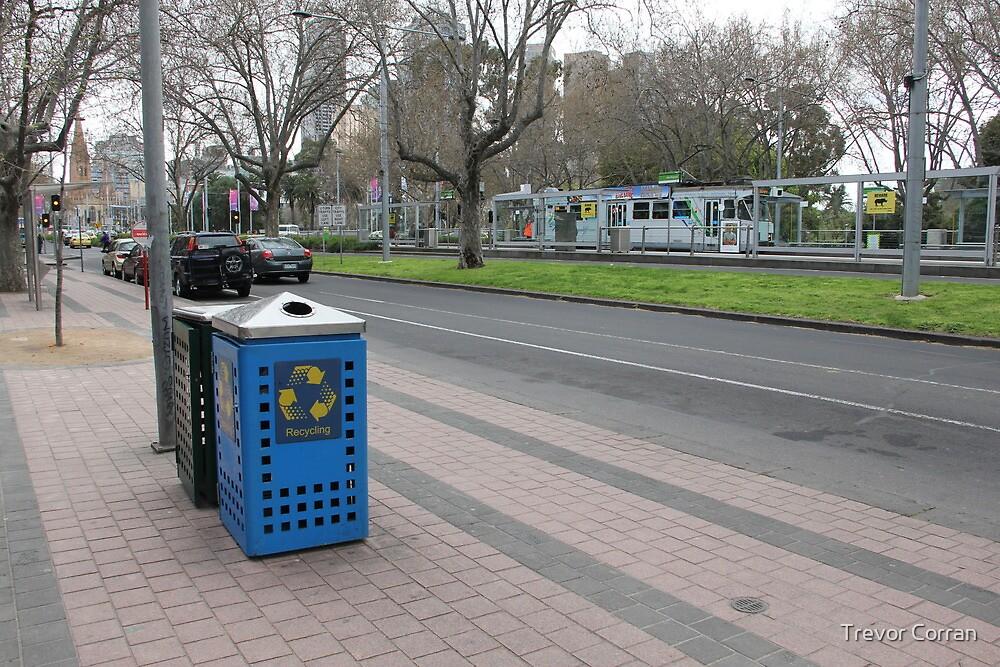 Melbourne urban landscape by Trevor Corran