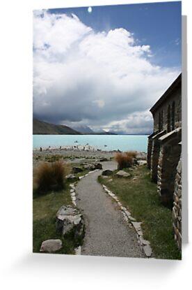 Path to the Lake by Jon Charles