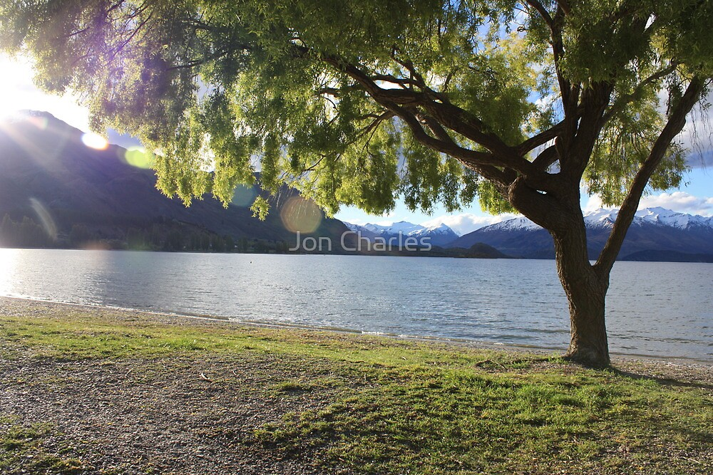 Lake Wanaka in the Evening by Jon Charles