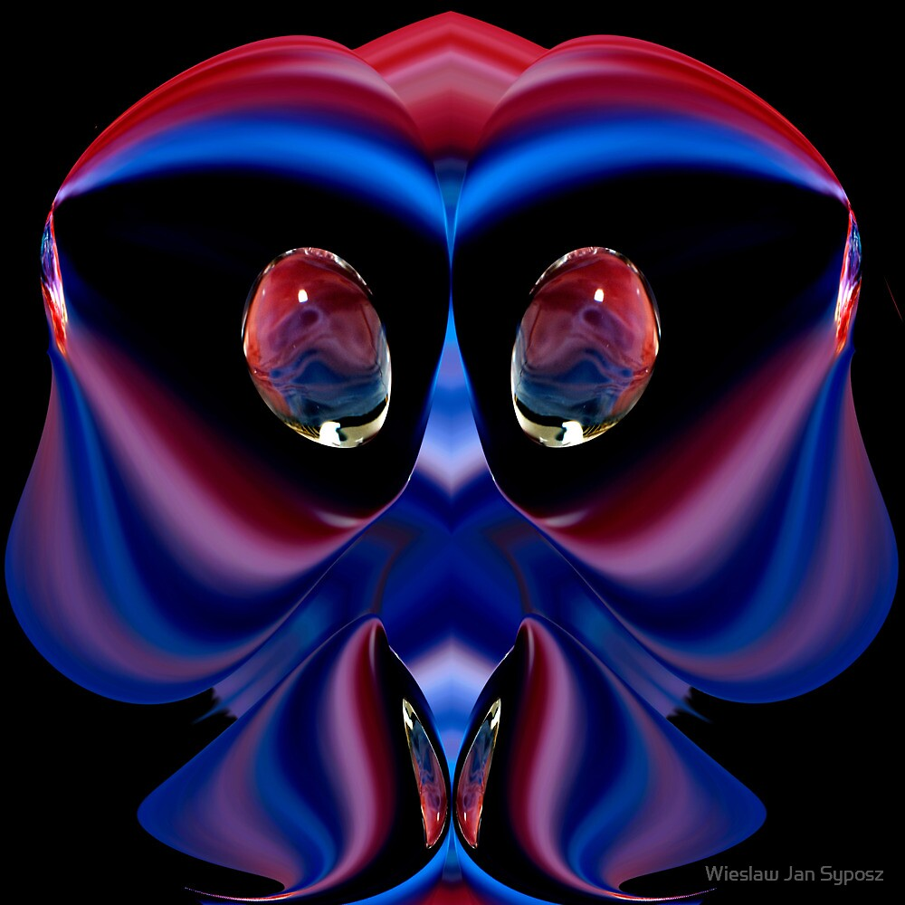 faces & creatures 040 by Wieslaw Jan Syposz