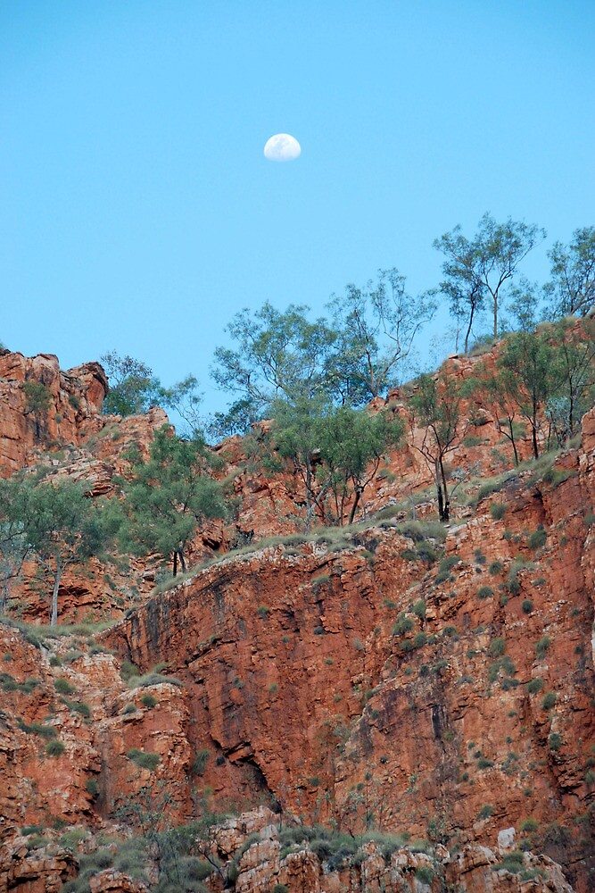 Moon Over The Kimberley by janetJ