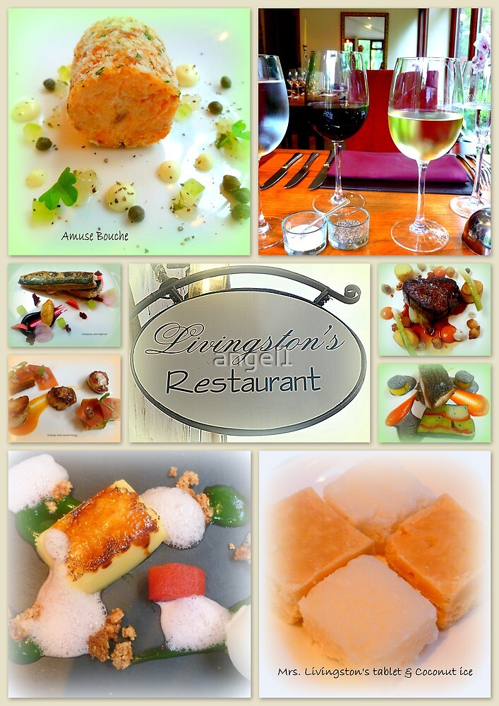Gourmet Food Collage by ©The Creative  Minds