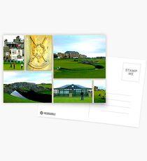 St. Andrews Links Postkarten