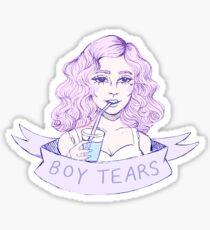 boy tears Sticker