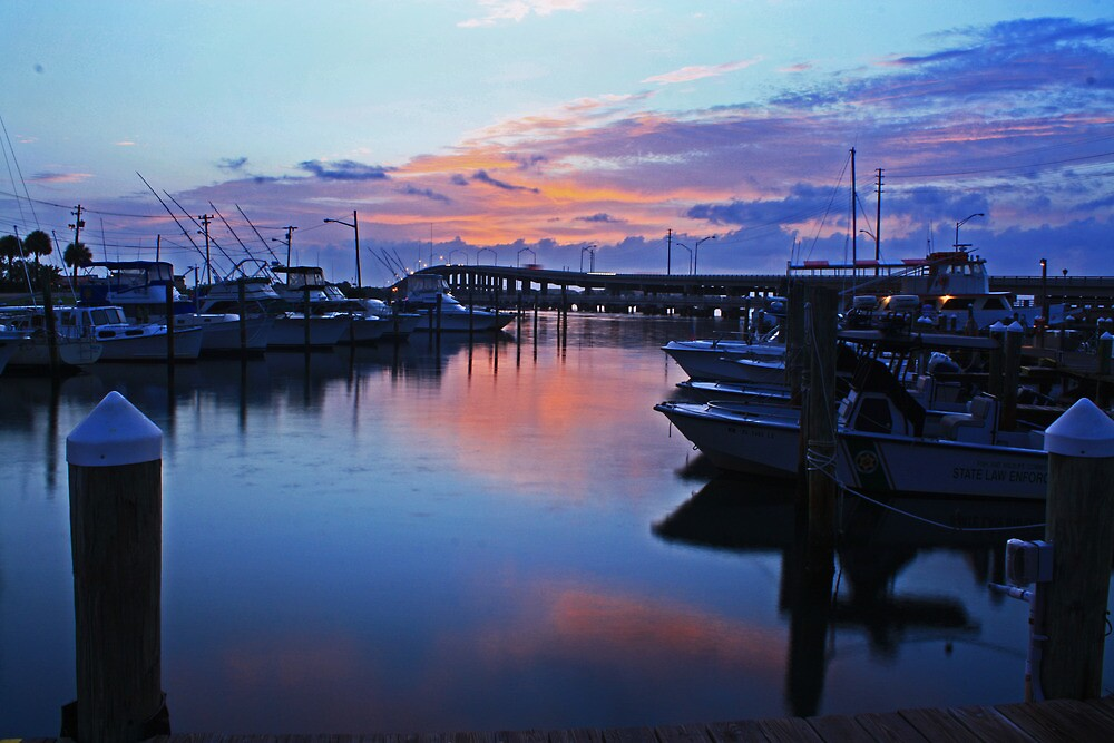 fishermens wharf in ft pierce by cliffordc1