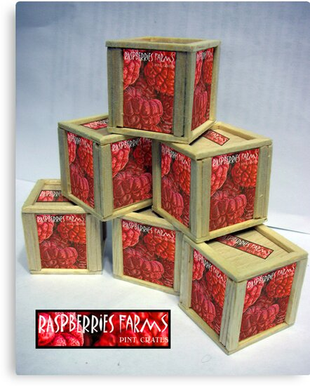 Raspberry Crates by GolemAura