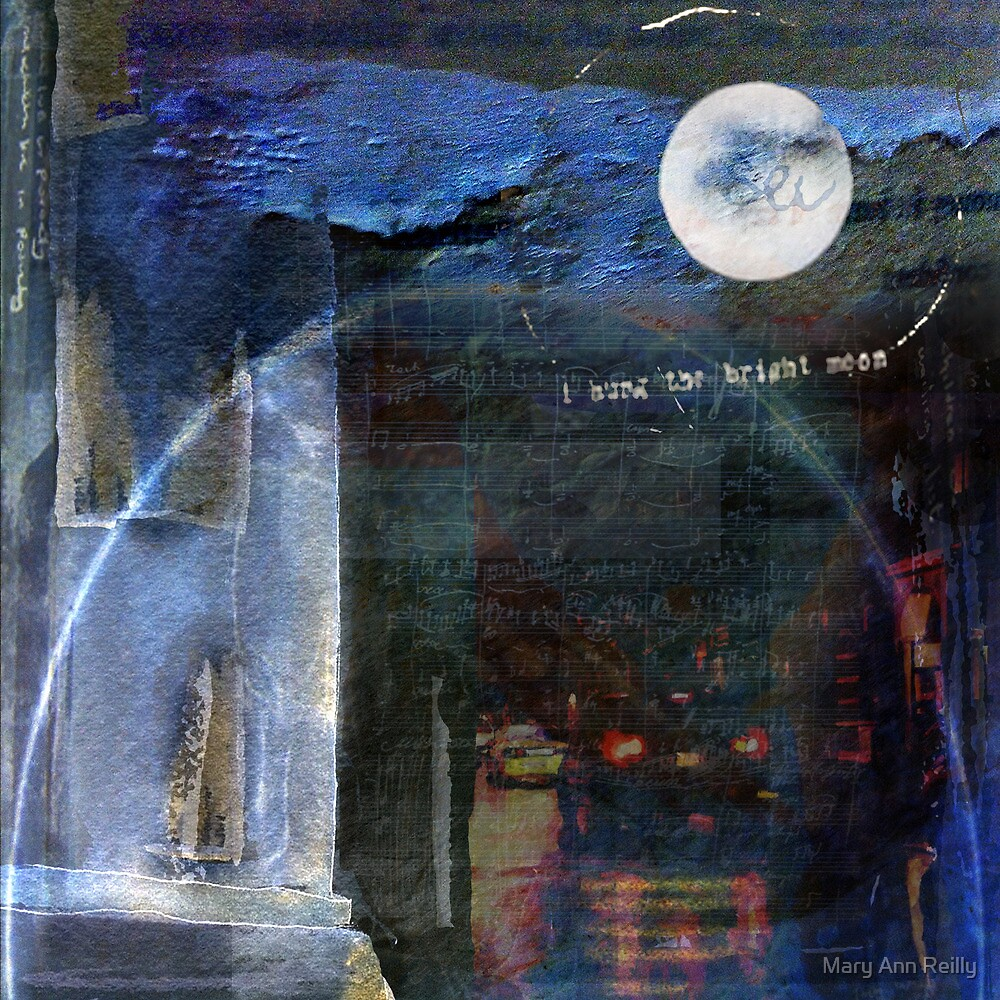 Hung the moon by Mary Ann Reilly