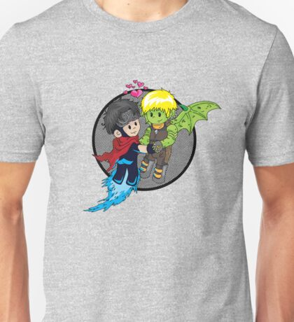 Wiccan and Hulkling Unisex T-Shirt