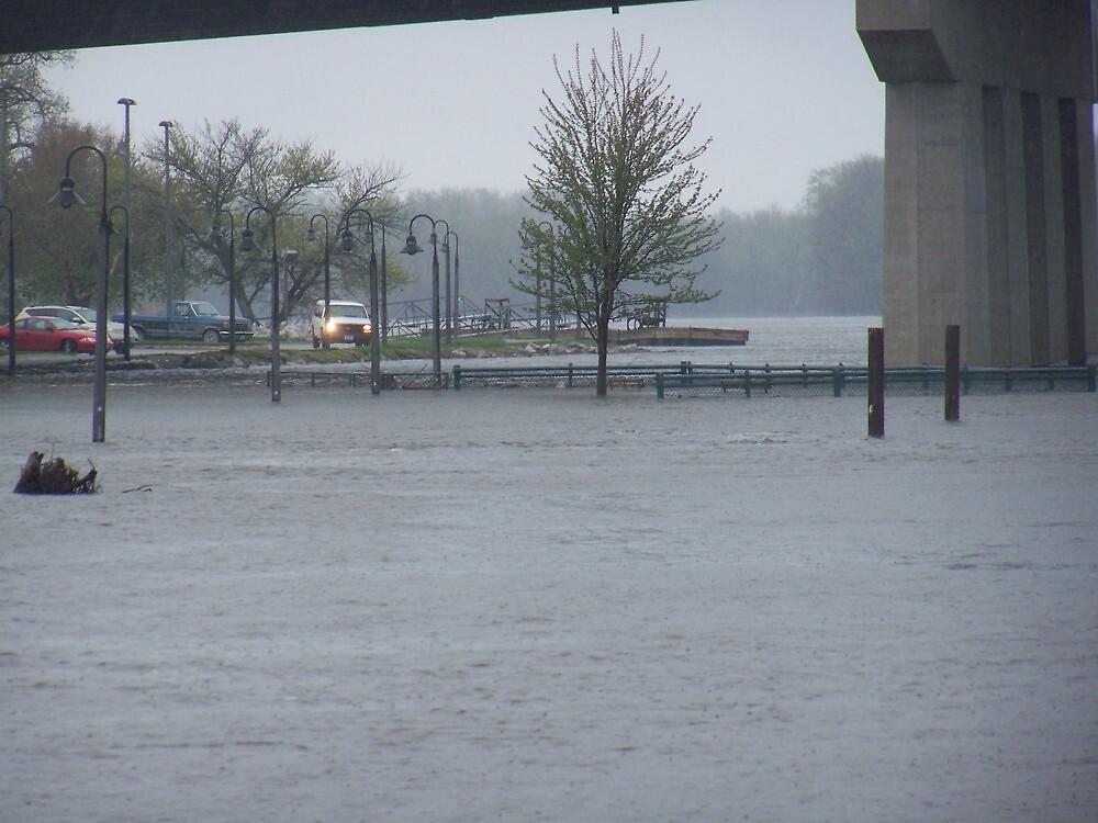rising flood waters by akk96