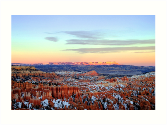 Winter in Bryce Canyon - Utah, USA by Paul Gilbert
