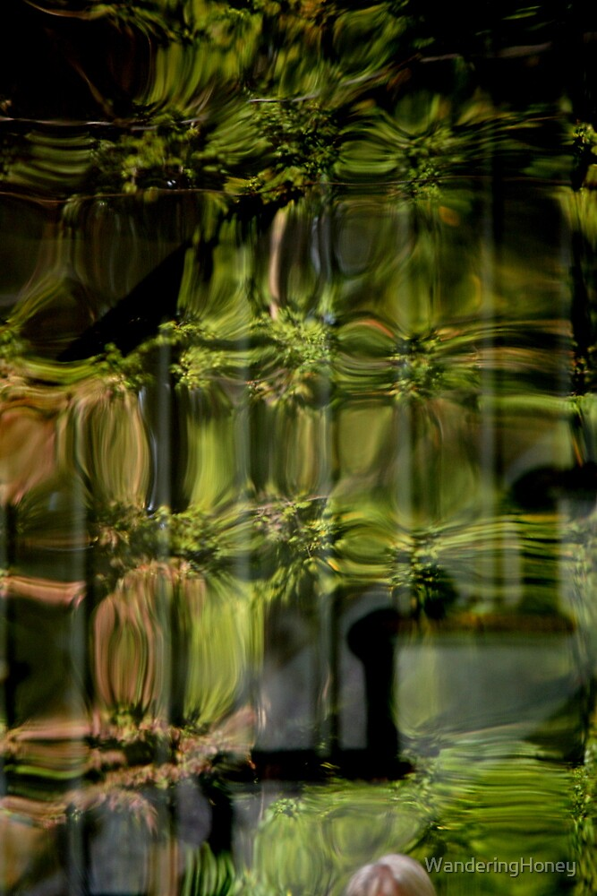 Green Eyed Lady by WanderingHoney