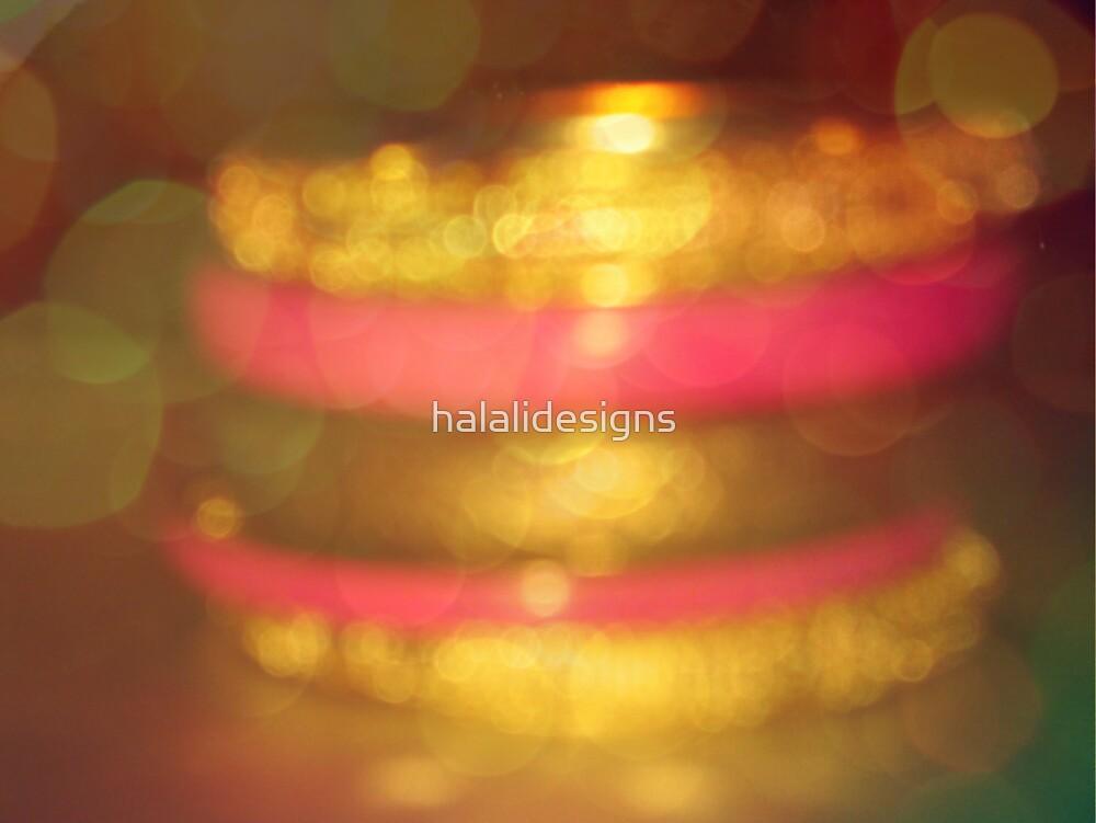 Bokeh & Vintage Tone Challenge- Bangles by halalidesigns