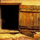 A Barn Window by Debra Fedchin