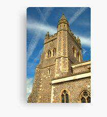 Spire of St Mary's Church, Old Amersham Canvas Print