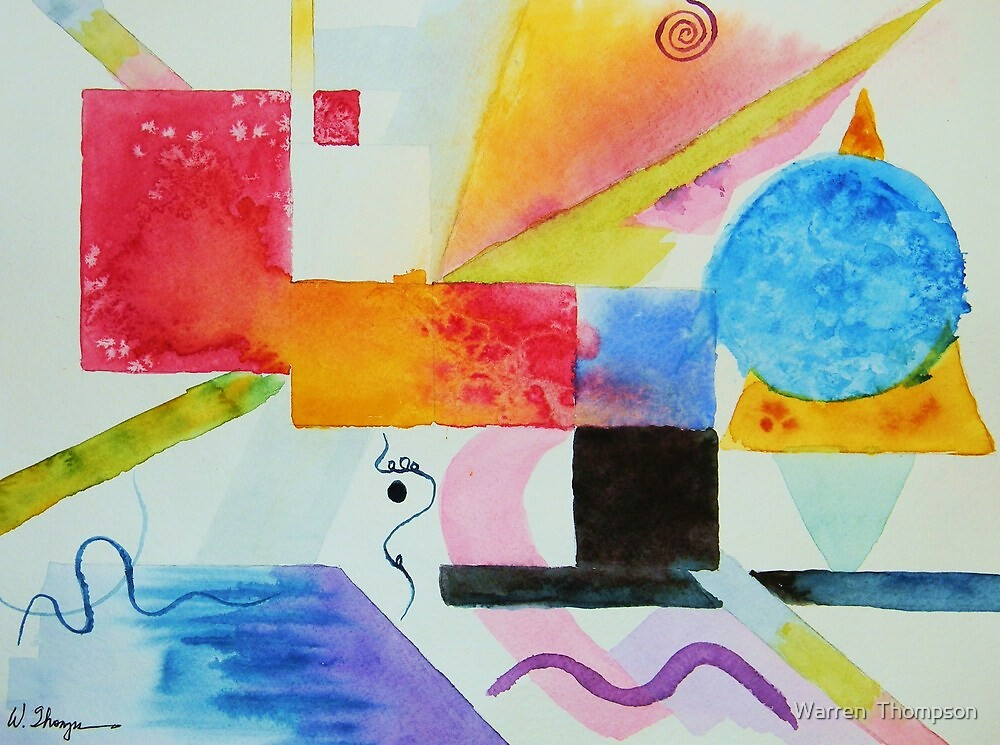 Kandinsky Dreaming by Warren  Thompson