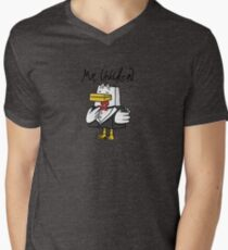 Mr. Chicken - Basic Men's V-Neck T-Shirt