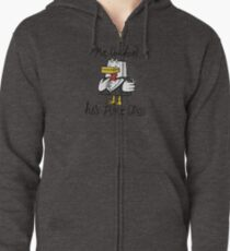 Mr. Chicken - Pure Class Edition Zipped Hoodie