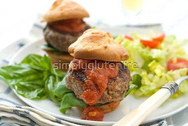 Gluten Free Italian Meatball Sliders Recipe by simplyglutenfre