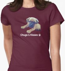 Chugs & Kisses Women's Fitted T-Shirt