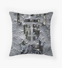 Rise of the Cybermen Throw Pillow