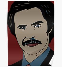 Anchorman 2 - Ron Burgundy  Poster