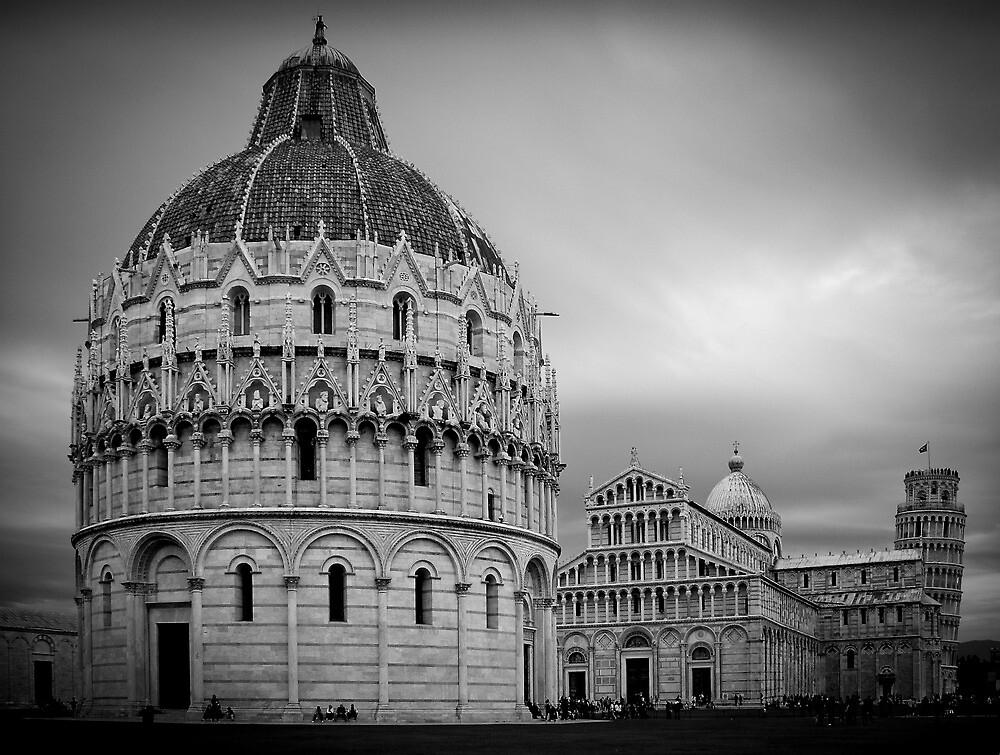 Piazza dei Miracoli, Pisa by Roverguybm