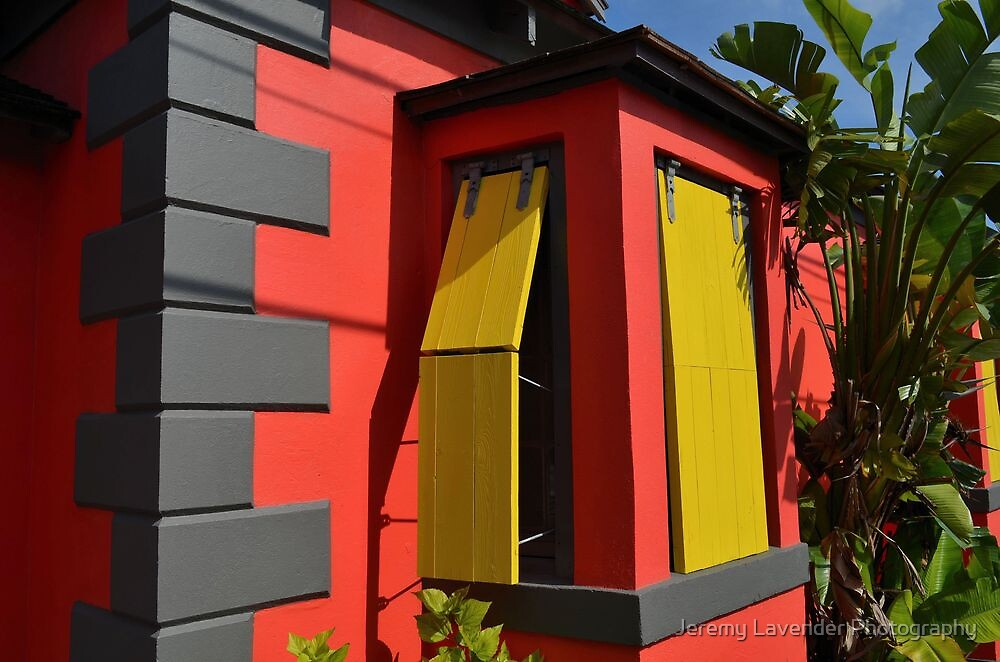 Colorful House in Nassau, The Bahamas by Jeremy Lavender Photography