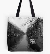 boat of Amsterdam Tote Bag