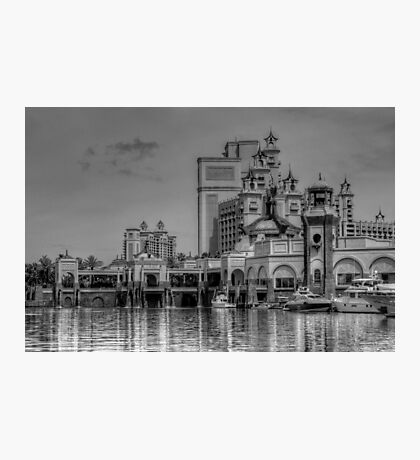 Atlantis Towers in Paradise Island, The Bahamas Photographic Print