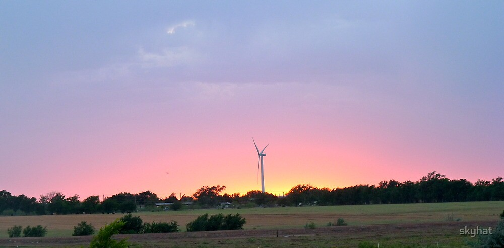 Power Mill Sunset by skyhat