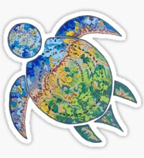 Adventure Turtle Sticker